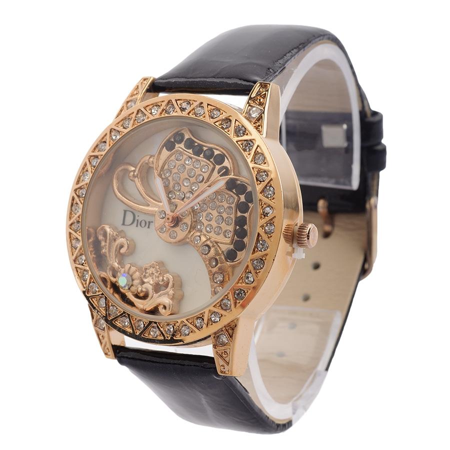 Женские наручные часы Dior со стразами Swarovski Часы