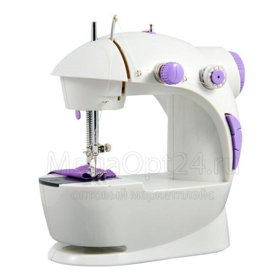 ПОРТАТИВНАЯ ШВЕЙНАЯ МАШИНКА Mini Sewing Machine 4in1 ОПТОМ