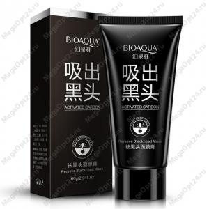 Черная маска-пленка от прыщей и черных точек Bioaqua оптом