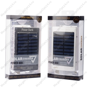 Внешний аккумулятор на солнечных батареях Solar Charger 20000mAh.