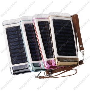 Power bank на солнечных батареях Solar Charger 30000mAh