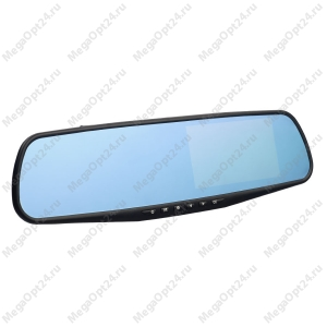 Зеркало-видеорегистратор Vehicle Blackbox DVR с камерой заднего вида