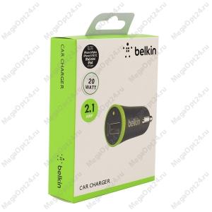 Автомобильное зарядное устройство Belkin 2.1amp. 20 watt.