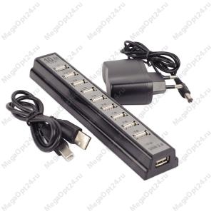 Концентратор USB2.0 HUB 10 портов оптом
