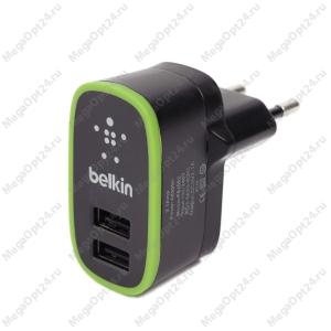 Сетевое зарядное устройство Belkin Home Chargerчерный