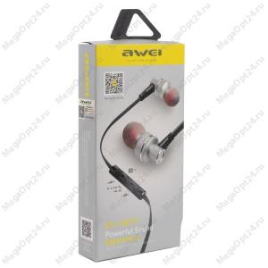 Вакуумные стерео наушники Awei es10tu оптом
