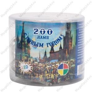 Светодиодная гирлянда С Новым годом 200 ламп 10 м