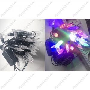 Светодиодная гирлянда 50 ламп 7 м фигурная