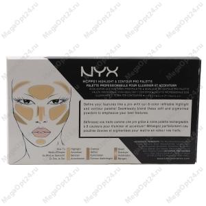 Контурирующая палетка NYX Highlight & Contour Pro Palette
