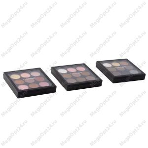 Палетка матовых теней MAC 9 цветов оптом