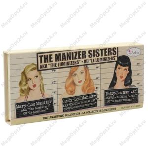 Палетка хайлайтеров the Manizer Sisters оптом