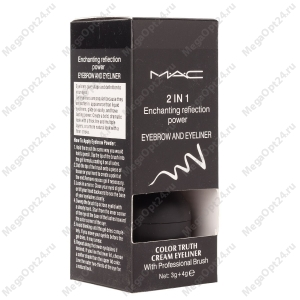 Тени для бровей + подводка для глаз MAC Enchanting Reflection Power 2 in 1