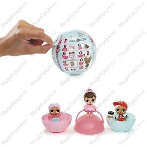 Игрушка-кукла-сюрприз  в шарике