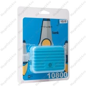 Внешний аккумулятор Power Bank YS15 10800 мАч