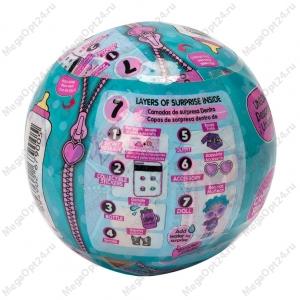 Игрушка-кукла-сюрприз в шарике 3шт