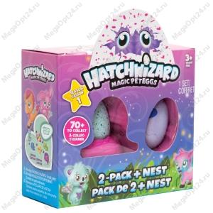 Набор коллекционных фигурок Hatch Wizard (2+гнездо) оптом