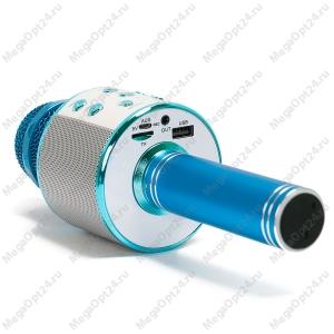 Колонка с дополнительными функциями (караоке, микрофон) Wster WS-858 оптом