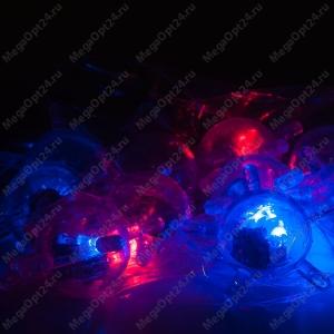 Детский светящийся конструктор Light Up Links 128 деталей