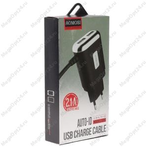 Сетевое Зарядное Устройство AOMOSI Charget 2 USB
