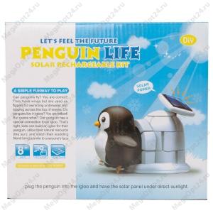 Конструктор на солнечных батареях Pinguin Life