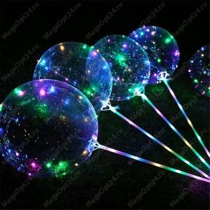 Светящийся шар led с ручкой