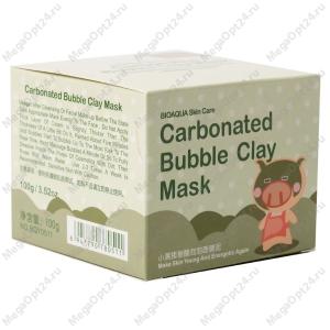 Очищающая глиняно-пузырьковая маска