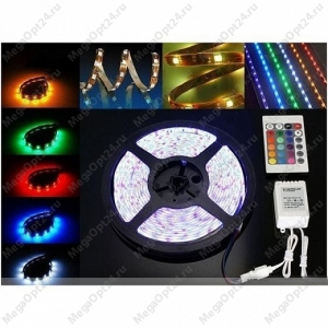 Светодиодная лента RGB с пультом