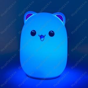 Ночник-лампа Bud bear silicone lamp