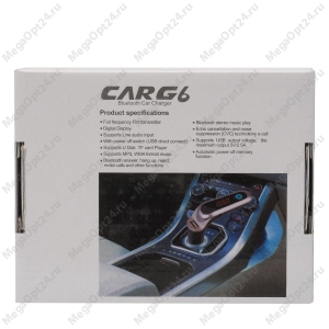 Устройство громкой связи с трансмиттером CAR G6