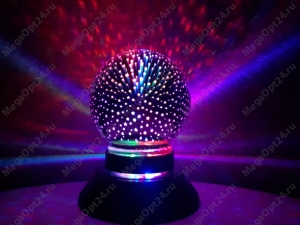 Ночники- светильники 3D шар