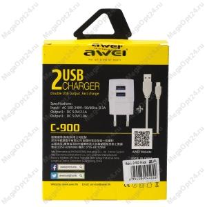 Многофункциональное зарядное устройство Awei С-900+кабель