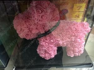 Собачка из роз