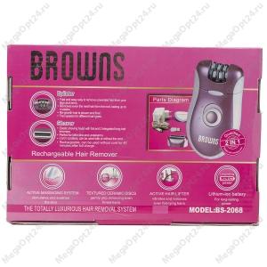 Эпилятор 2в1 Browns BS-2068