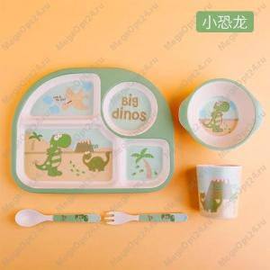 Комплект посуды для детей из 5 предметов