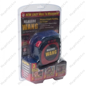 Рулетка Measure Wang 3 в 1