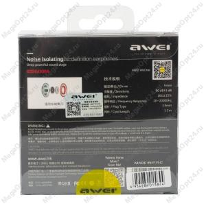 Наушники Awei ES600M оптом
