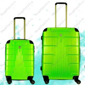 Комплект из двух чемоданов (салатовые)