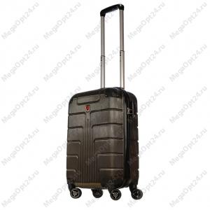Комплект из двух чемоданов (коричневые)