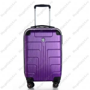 Комплект из двух чемоданов (фиолетовые)