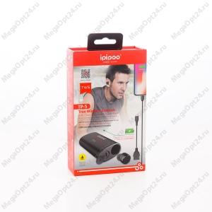 Комплект наушники+powerbank TP-5