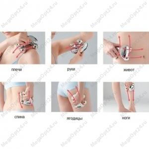 Роликовый массажер Massager XC-118
