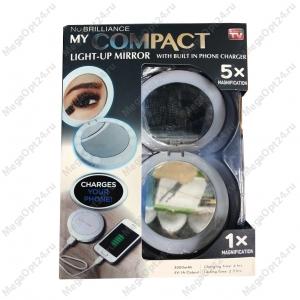 Зеркало-PowerBank MyCompact