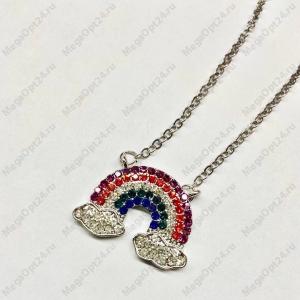 Ожерелье с подвеской Радуга