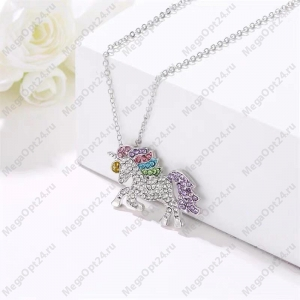 Ожерелье с подвеской Единорог