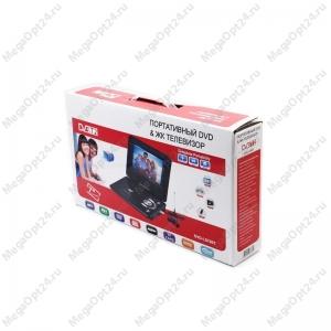 Портативный DVD плеер с цифровом тюнером DVB-T2 LS-780T