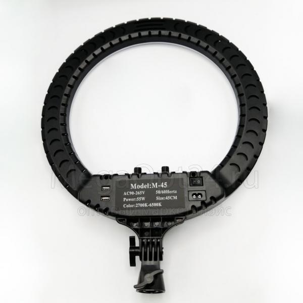 Светодиодная кольцевая лампа с пультом RL-21 54 см