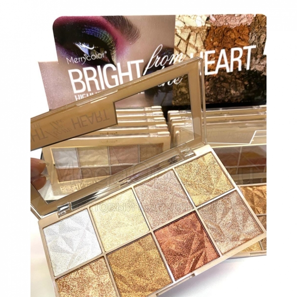 Хайлайтер Merrycolor BRIGHT Highlight Pallete