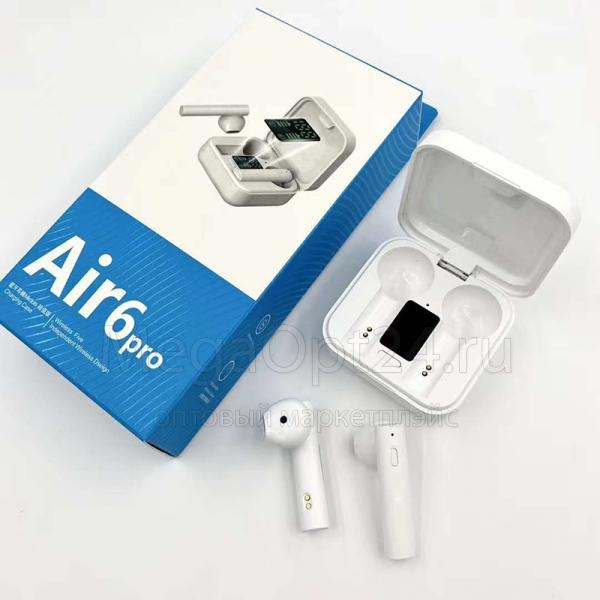 Беспроводные наушники AIR6 Pro