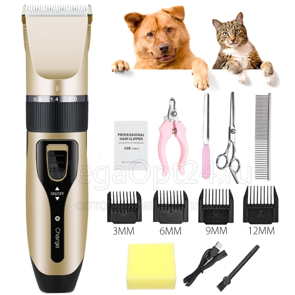 Набор для груминга Pet Grooming Hair Clipper C11967