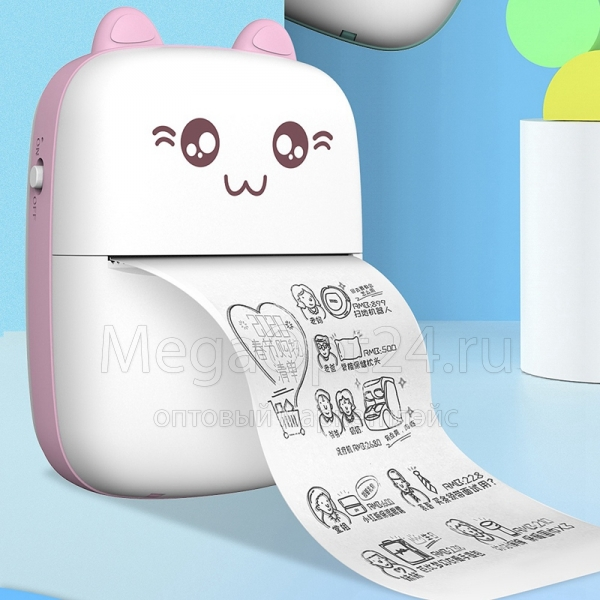 Портативный принтер MINI